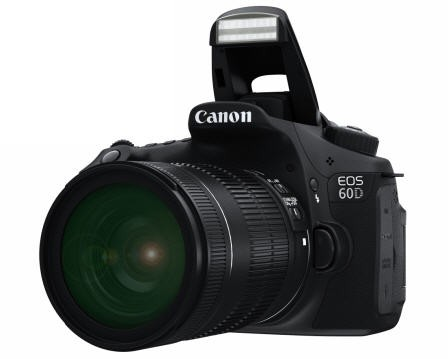 The Canon 60D is a consumer-friendly DSLR with awesome video capabilities.