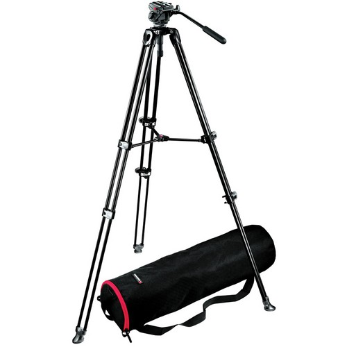 Manfrotto 701HDV Head with MVT502A Tripod Kit