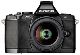 Olympus OM-D EM5, the mother of all mirrorless cameras.