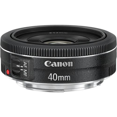 "Canon 40mm F2.8 ""Pancake"" Lens"