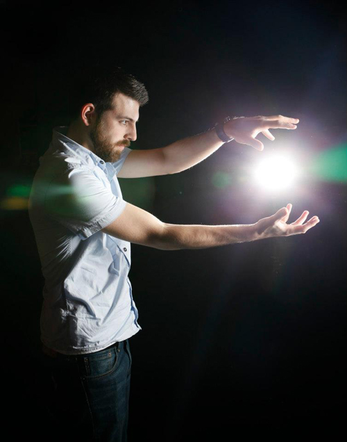 Kevin Deskins, harnessing the power of the light