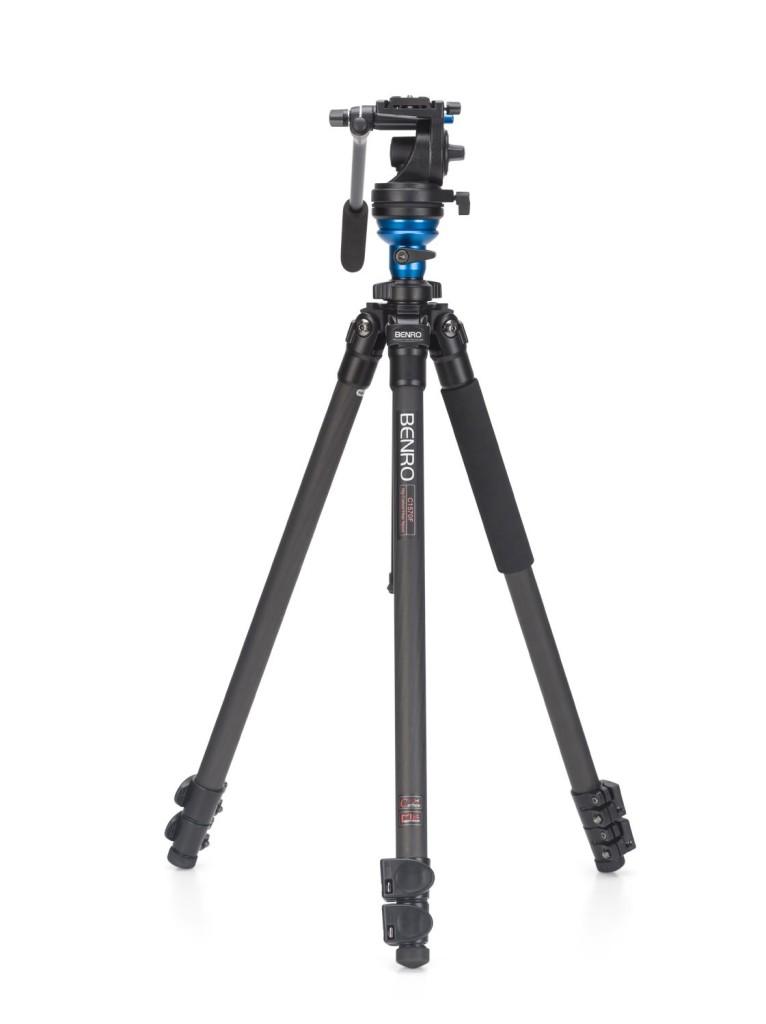 Benro C1573F Series 1 CF Video Tripod & S2 Head Kit