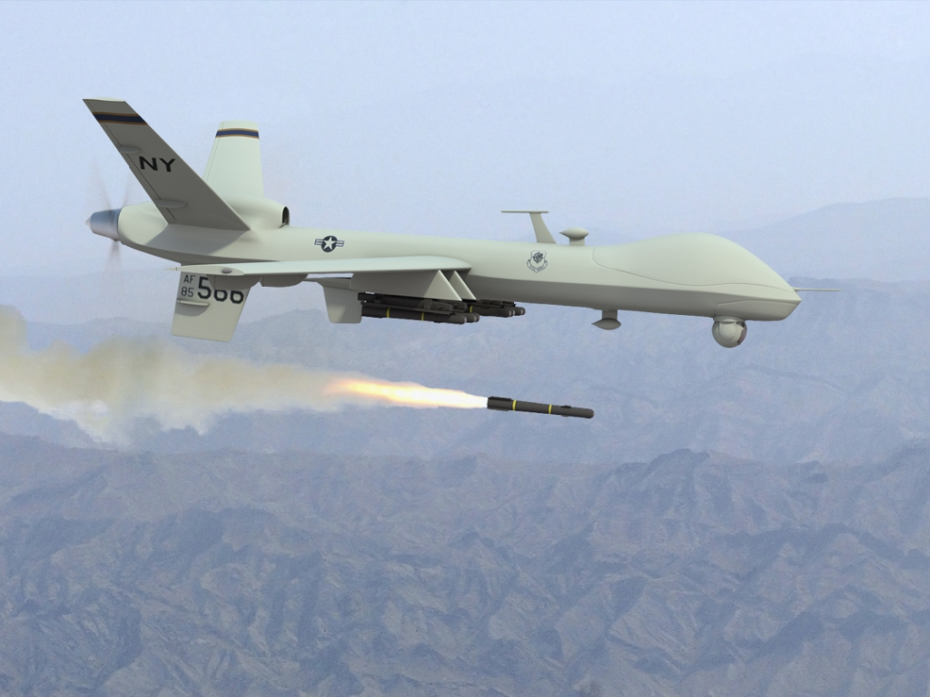Mike Hahn's original digital drone mock-up