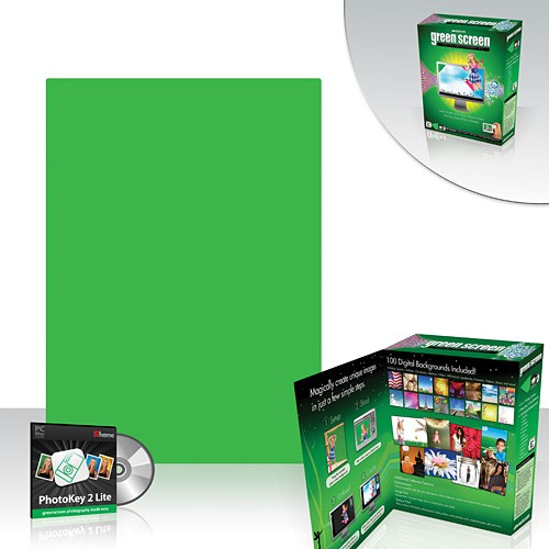 Westcott Green Screen Bundle with Photokey Software