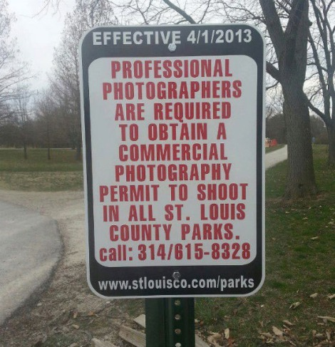 st louis sign