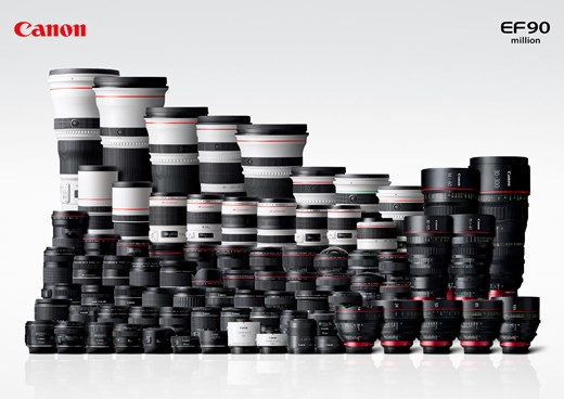 canon 90 million