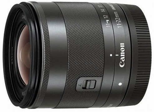 Canon EF-M 11-22mm F/4 5.6 IS STM