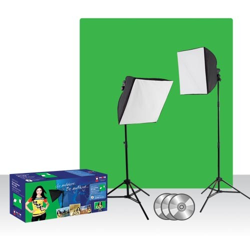 green screen light kit