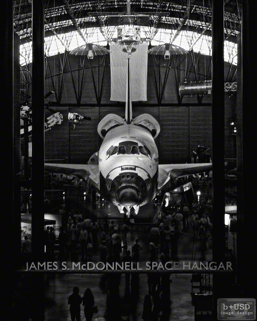 """Space Shuttle Discovery"" by Aaron Sheldon. Shot with IR-converted Canon Rebel T3i."
