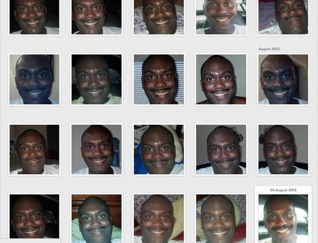Dude really likes selfies.