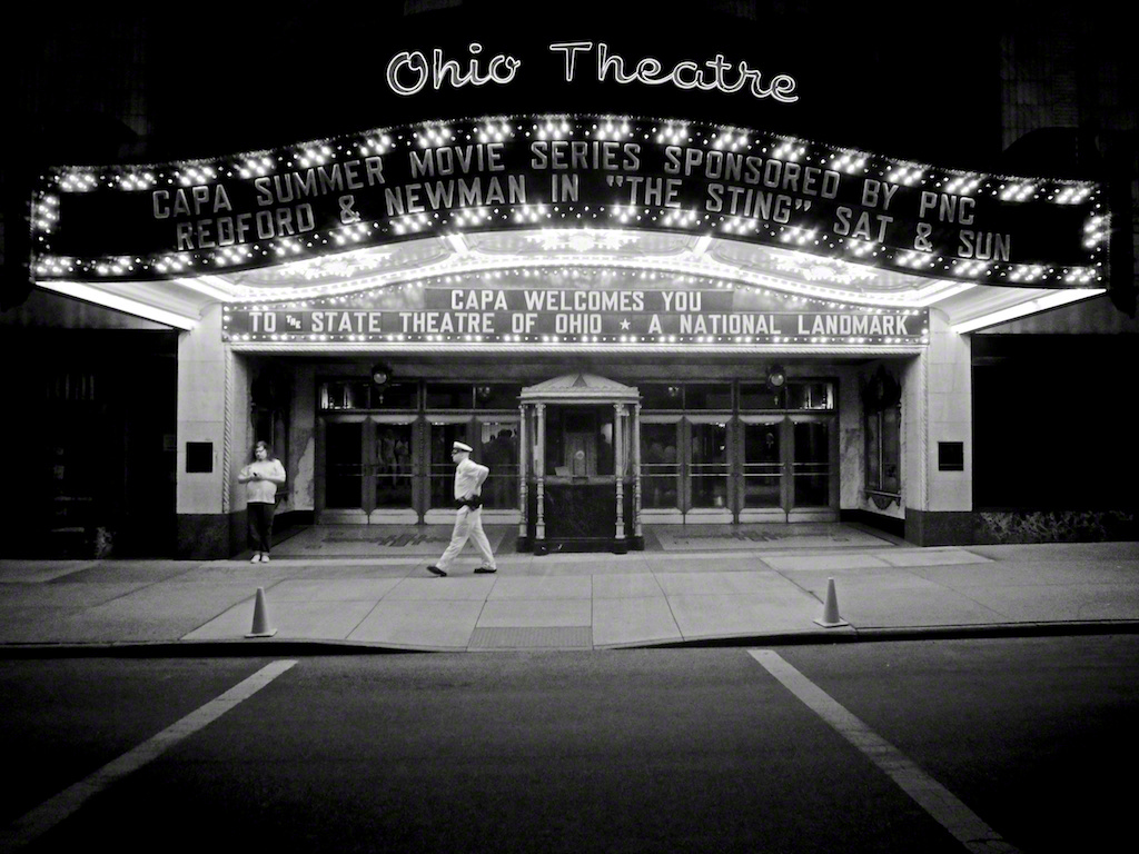"""Ohio Theatre"" by Aaron Sheldon"