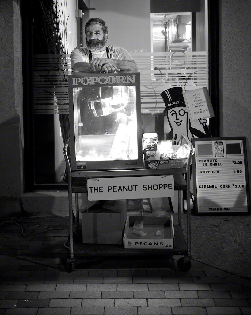 """Peanut Vendor"" by Aaron Sheldon"