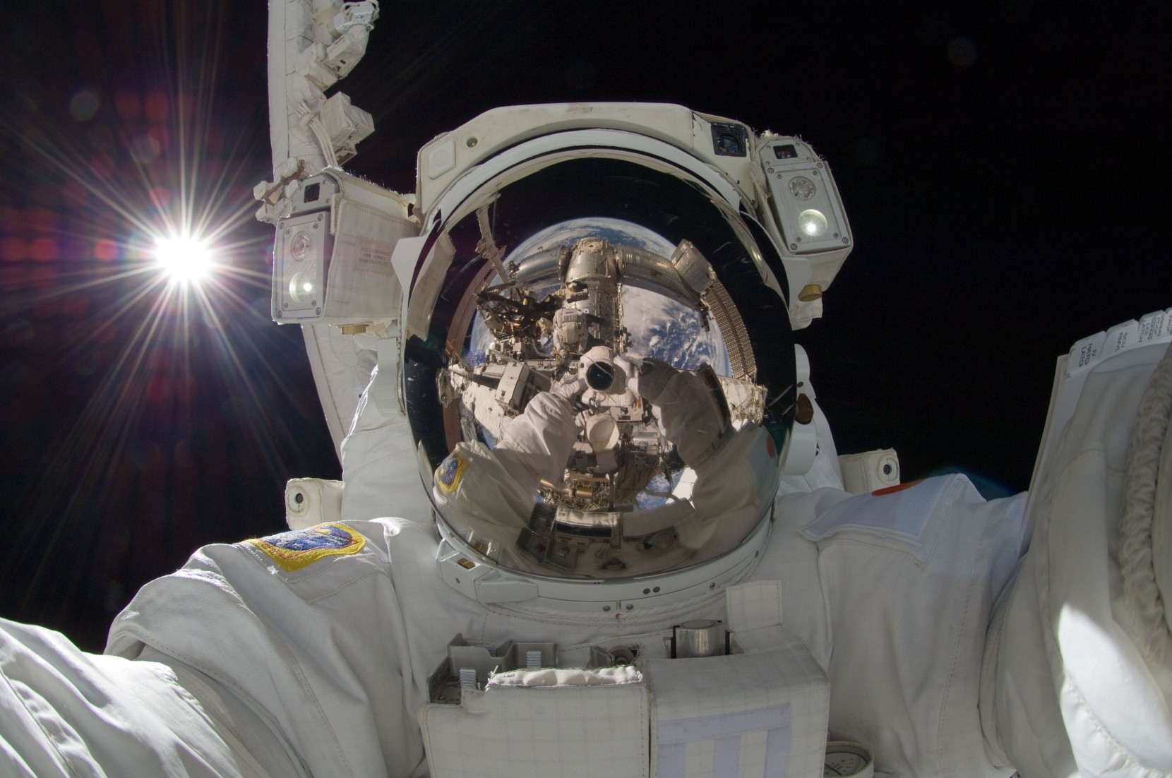 Yeah, we get it, Hoshide-san. You're in space. Big whoop.