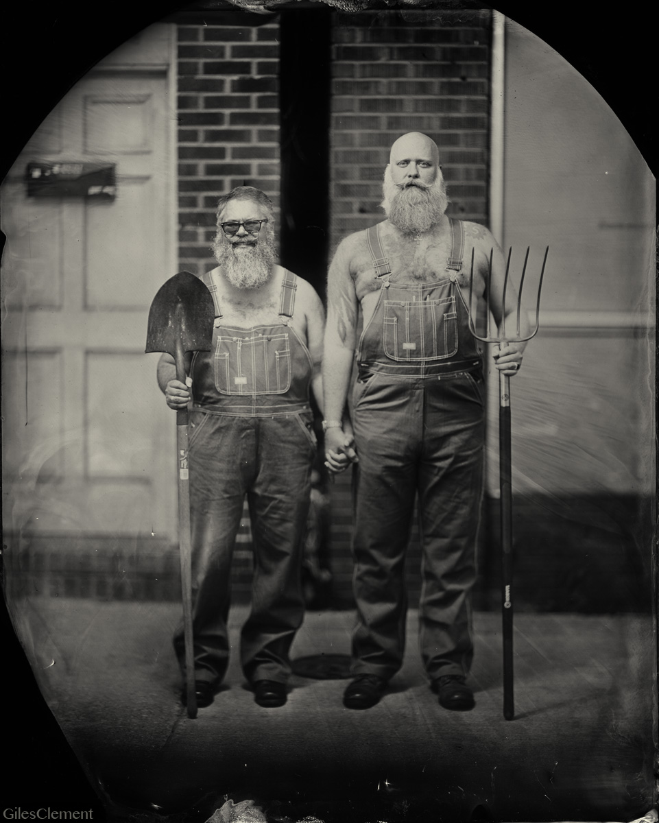Tintype by Giles Clement
