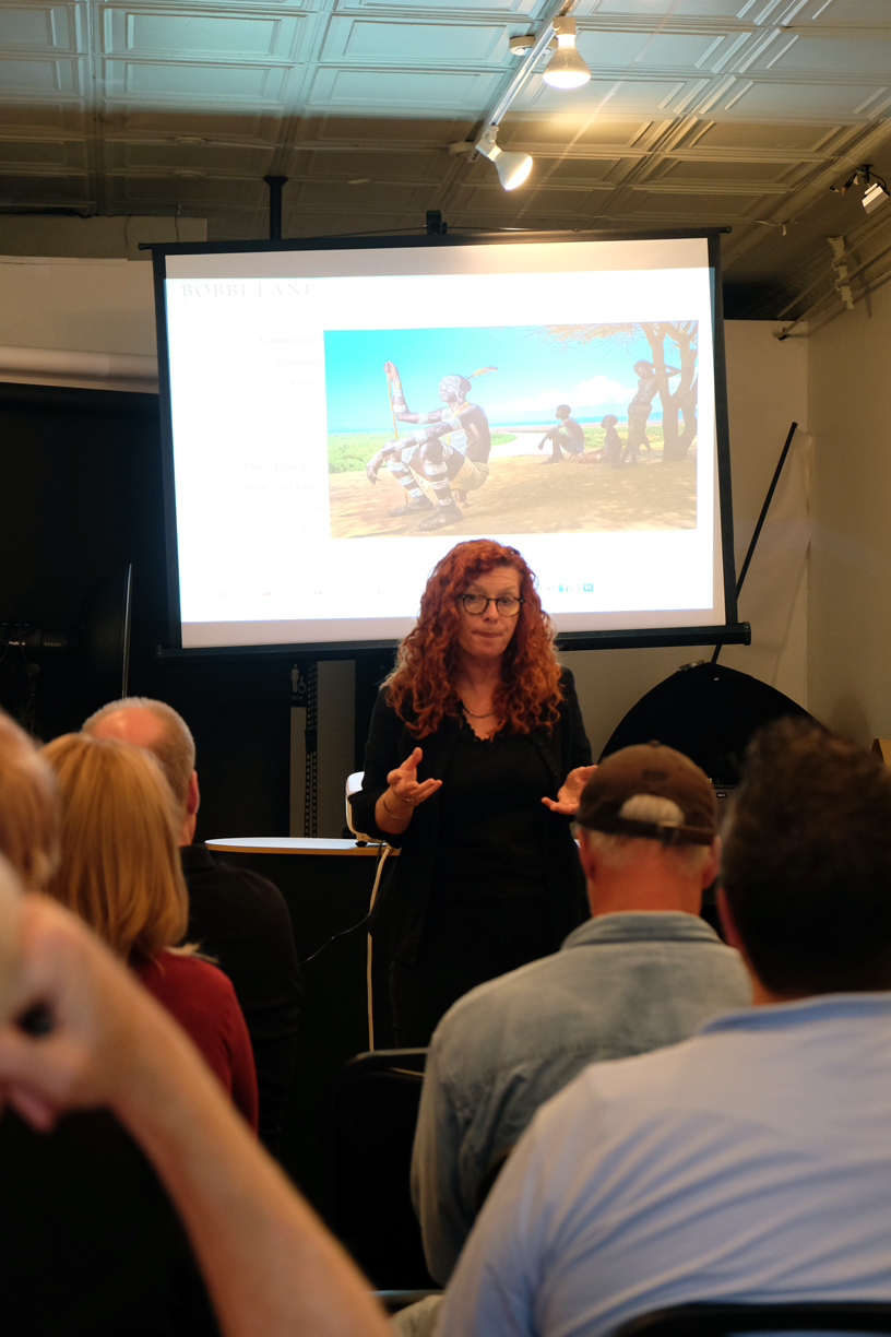 Award-winning commercial photographer Bobbi Lane recently stopped by the Learning Studio for an excellent 2-day workshop.