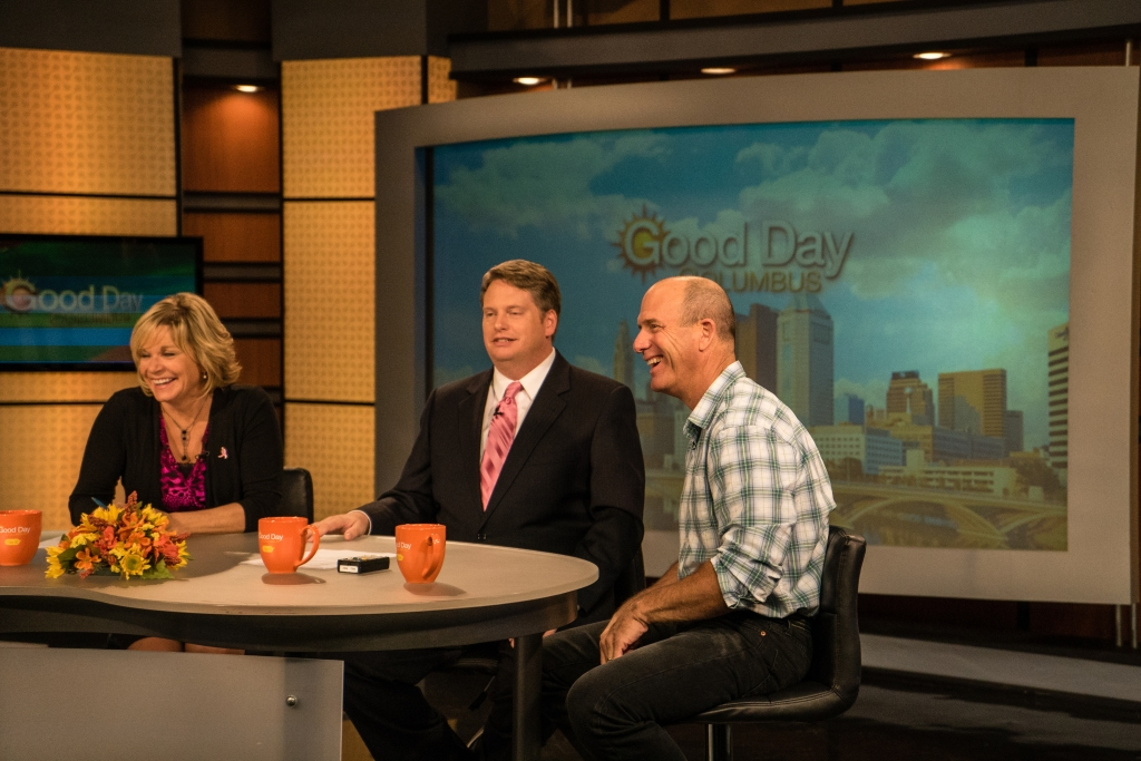 Joel Grimes on Good Day Columbus for Midwest Photo.