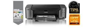 The Canon Pro-10 printer is perfect for printing bright vibrant color as well as deep and intense black and white prints.