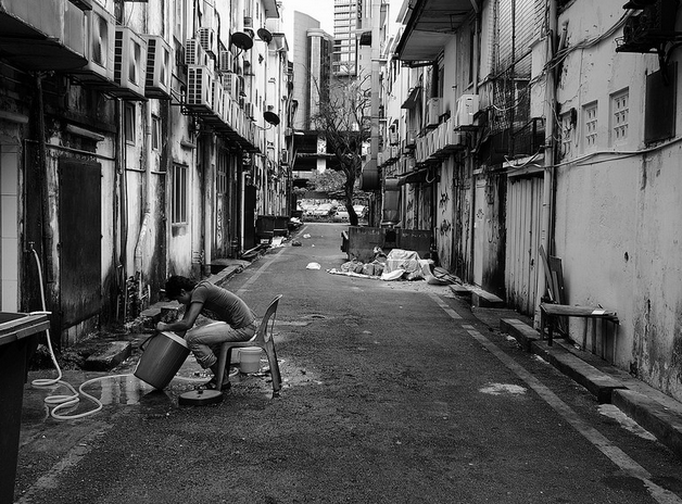 Man at Work by Abe Liandro