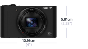 This camera is as small as it gets!
