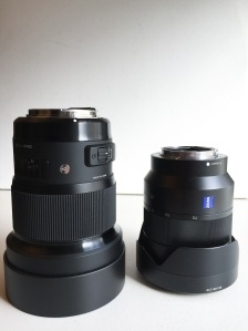 Sigma 20mm Art vs Sony 24-70
