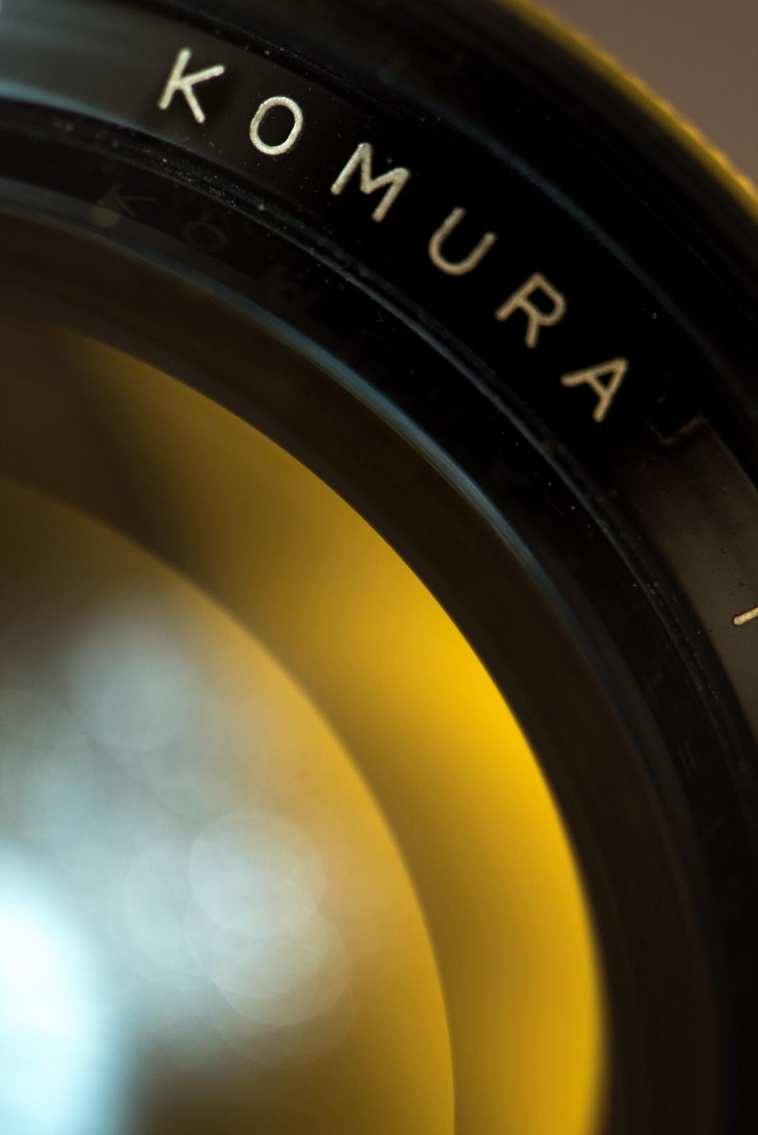 Komura 135mm f-2.8-2