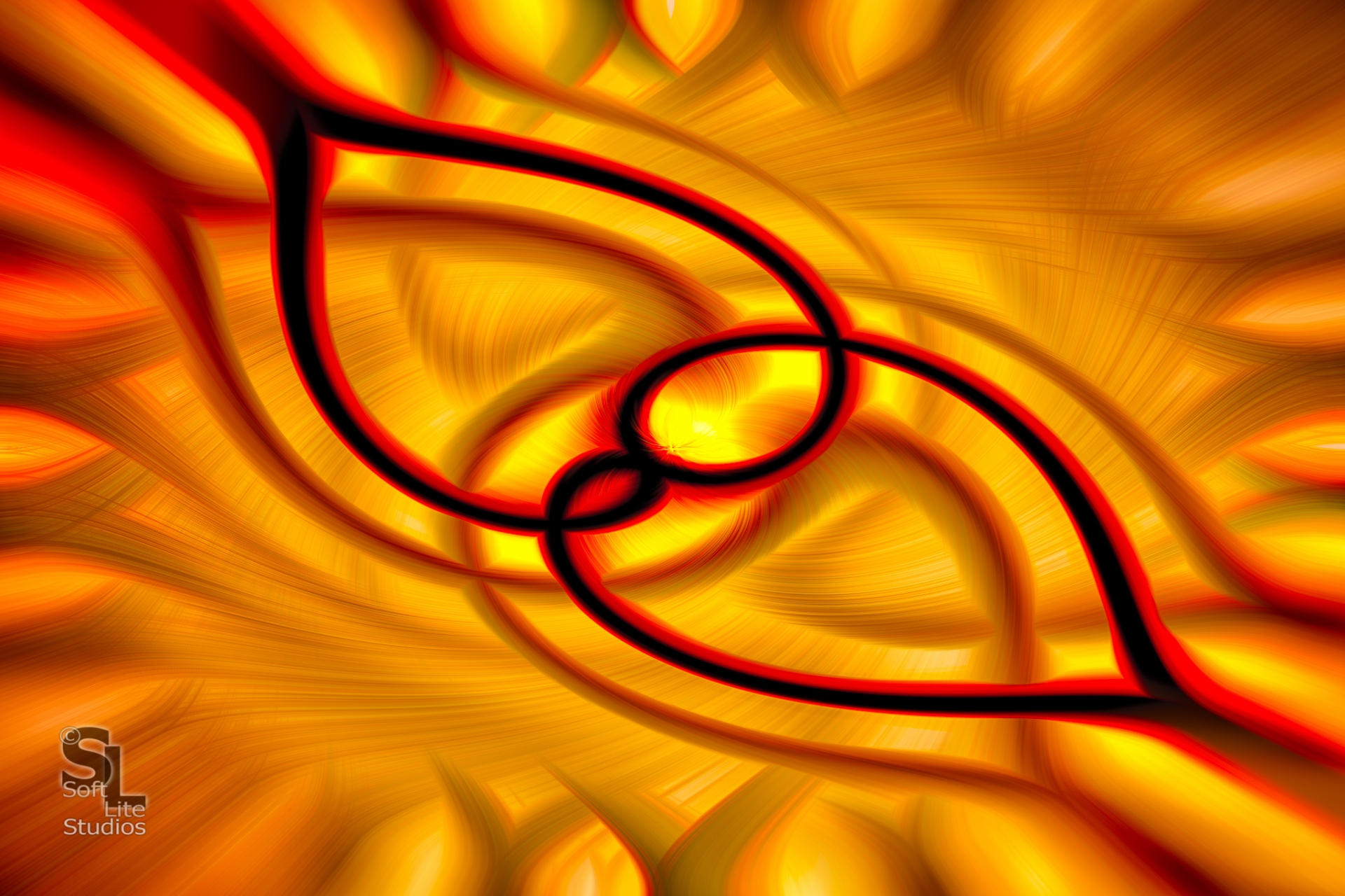 """Curves - Bonus"" This one was just to symmetrical to pass up on the PS twirl treatment..."