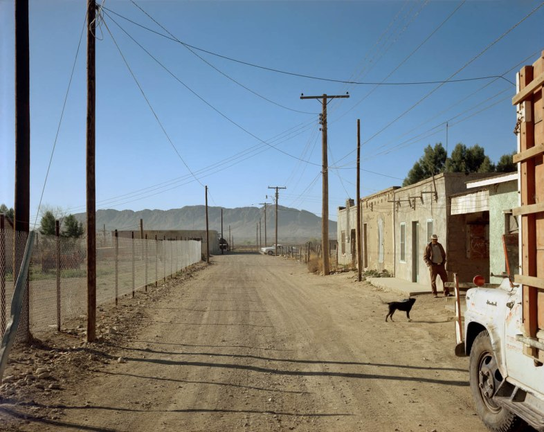 Presidio, Texas, February 21, 1975. By Stephen Shore.