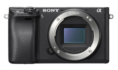 The Sony a6300 mirrorless camera.