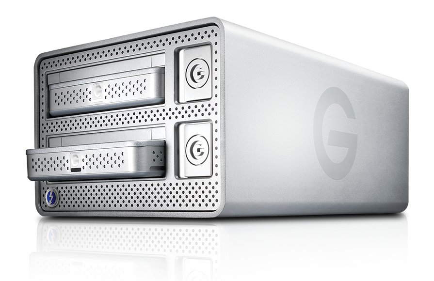 The Evolution Series includes not only the G-DOCK ev, but also G-DRIVE ev. Designed for speed and flexibility, G-DRIVE ev offers transfer speeds up to 136MB/s, features USB 3.0 for use as a single direct attached drive.