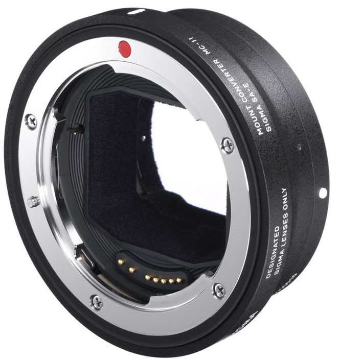 The brand new Sigma MC-11 mount converter. This is the next generation of lens adapters.