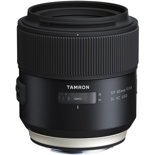 The only 85mm DSLR lens with image stabilization.