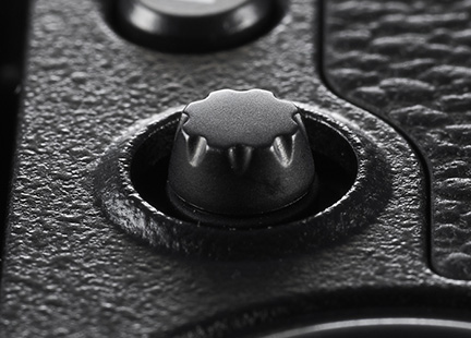 The AF joystick is a welcome addition to a camera with one of the most advanced AF systems on the market.