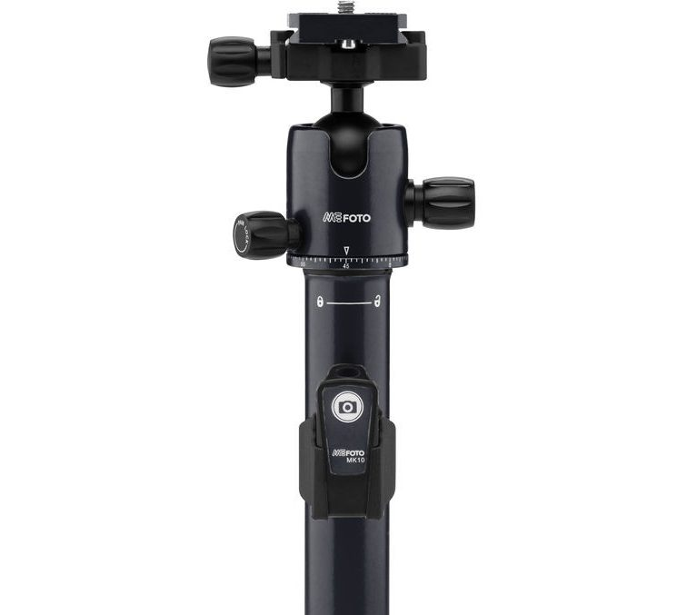 The MeFoto Air series has a great ball head that will not slip or slide when you need stability.