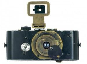 The original 'pocket camera', the Ur-Leica (1914), the first 35mm still camera.