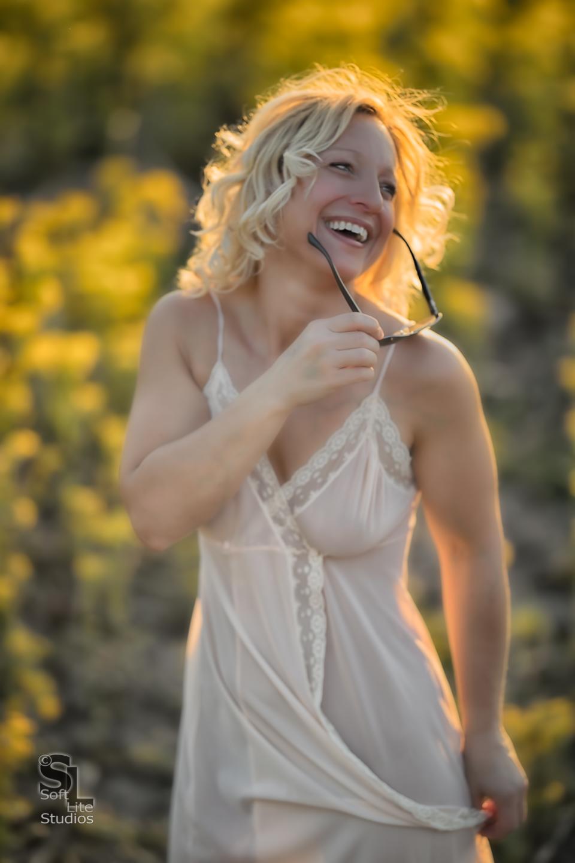 Laugh It Up. Copyright 2017, Tim Neumann / Lorie McQuirt (ISO 100, 1/800 @ f/1.8 - Canon 5D Mark IV, Sigma 135mm f/1.8 DG HSM|A, Profoto B1X AirTTL Monolight X 2)